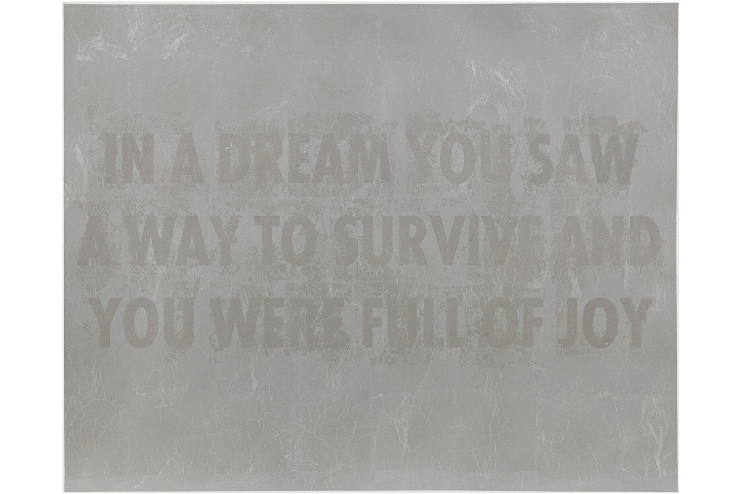in-a-dream-jenny-holzer-print-hauser-and-wirth